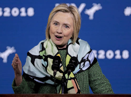 Greeson: Hillary finding wrong ways to stay in conversation