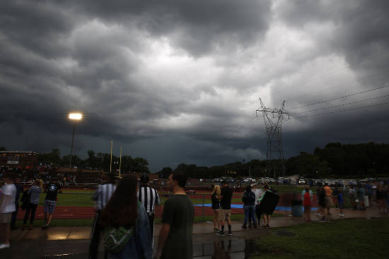 Weather wreaks havoc on opening Friday night of prep football