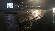 Several Hamilton County roads covered with rushing or standing water