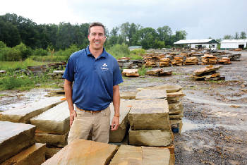 Young guns: 32-year-old Patrick Wells takes the reins at Majestic Stone