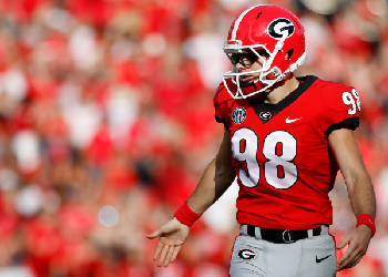 factory authentic b48f9 56822 UGA kicker Rodrigo Blankenship seeks a 'smart' senior season ...