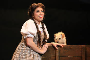 Twister drops Dorothy in the Tivoli for three performances of 'The Wizard of Oz'