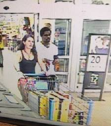 Two people used stolen credit cards to rack up almost $600 in purchases in Dalton