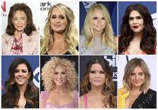 Country women lift each other up at CMT Artists of the Year