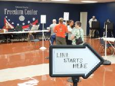 Voters turn out in North Georgia
