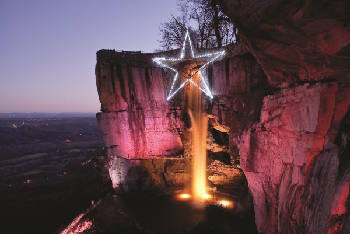 Rock City flipping the switch on Enchanted Garden of Lights