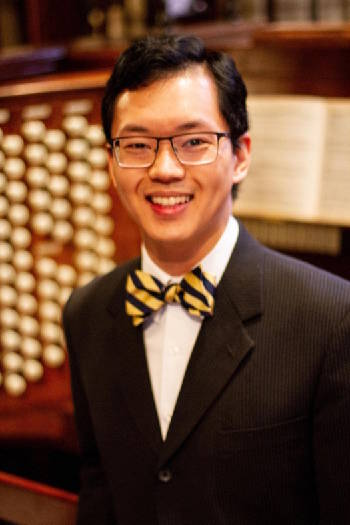 Organ virtuoso Aaron Tan opens new season of St. Paul's Artist Series