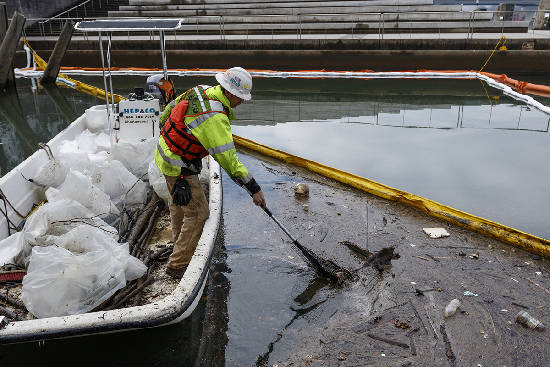 Citico Creek oil spill was result of contractor pumping fuel directly into creek