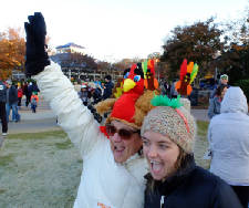 Join a Thanksgiving run/walk before you gobble 'til you wobble