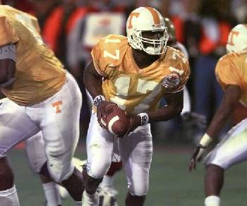 Tee Martin introduced as Vols' newest assistant football coach at Alabama-Tennessee men's basketball game