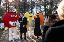 Mars marks milestones at M&M's plant in Cleveland, Tennessee
