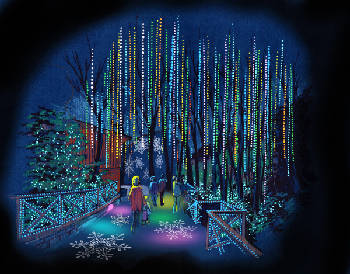 Dollywood plugs in 1 million more lights for Glacier Ridge