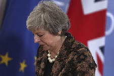 May aims to rescue Brexit plan; EU says ball's in UK's court