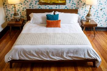 Guests At The Dwell Hotel Rave Online About Good Night S Sleep They Get On Murmaid Icool Mattresses