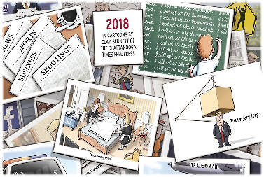 2018 in cartoons times free press
