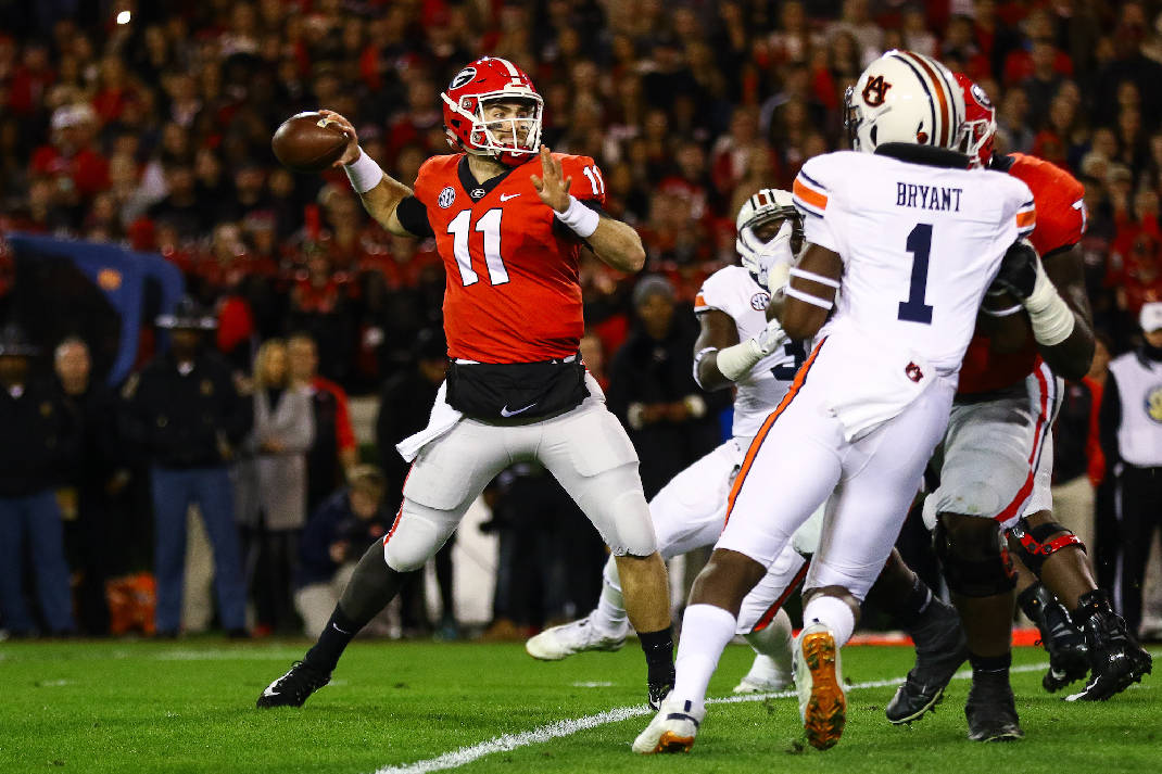 Jake Fromm not 'high-fiving' about Georgia quarterback ...