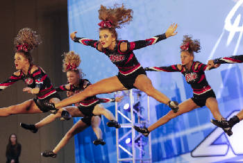 Cheer, dance squads compete at Chattanooga Convention Center