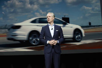 Photo Contributed By Volkswagen Scott Keogh Ceo Of Group America Talks About Planned Chattanooga Electric Vehicle Plant At The North