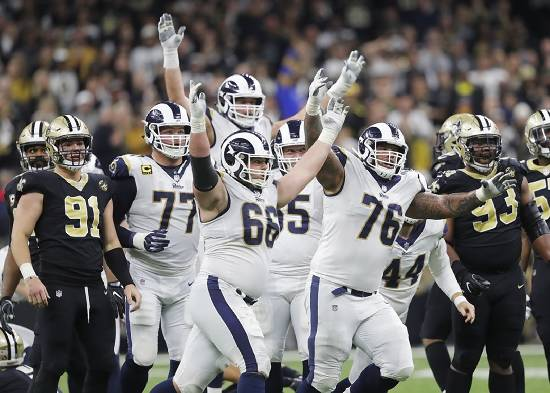 Rams top Saints in OT to win NFC title, secure Super Bowl berth
