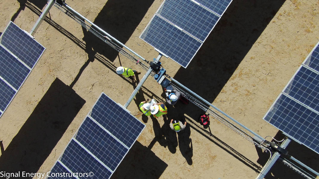 Chattanooga-based Signal Energy to help build five solar farms in California, Texas image