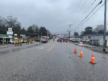 Gas Leak Temporarily Shut Down Hixson Pike On Wednesday Morning