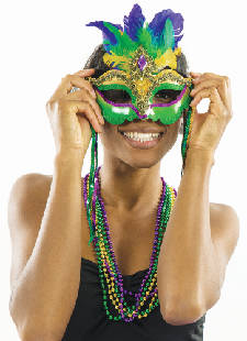 King cakes, beads and Dixieland bands: Make reservations now for next weekend's Mardi Gras parties