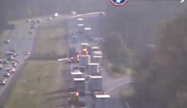 UPDATE: I-24 eastbound re-opened in Hamilton County after