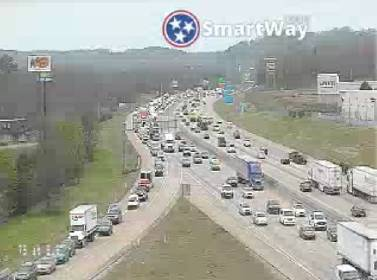 UPDATE: Crash cleared that backed up I-75 south traffic near