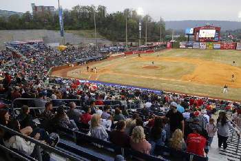 Chattanooga Lookouts open 10-day home stand