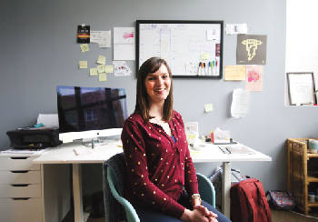Young Guns: Business owner Gabrielle Blades uses design to connect with the people she works with
