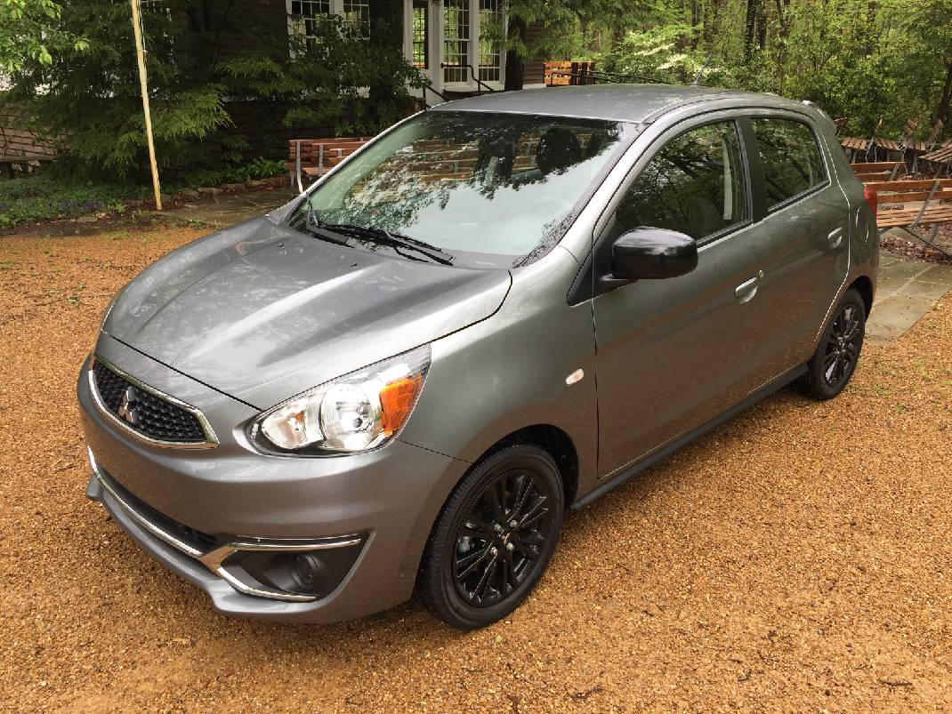 Test Drive: The 2019 Mitsubishi Mirage LE Hatchback Is Low