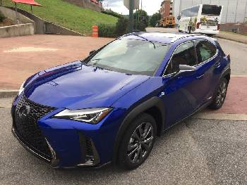 Quick Spin Little Lexus Ux 250h F Sport Packs Attitude Times Free