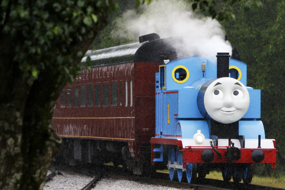 Photos: Spending a Day Out With Thomas the Tank Engine ...