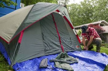 Saturday family campout kicks off new Walker Rocks Outdoor Series