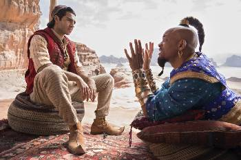 Film Review: Will Smith's fine in 'Aladdin,' but another guy's the problem