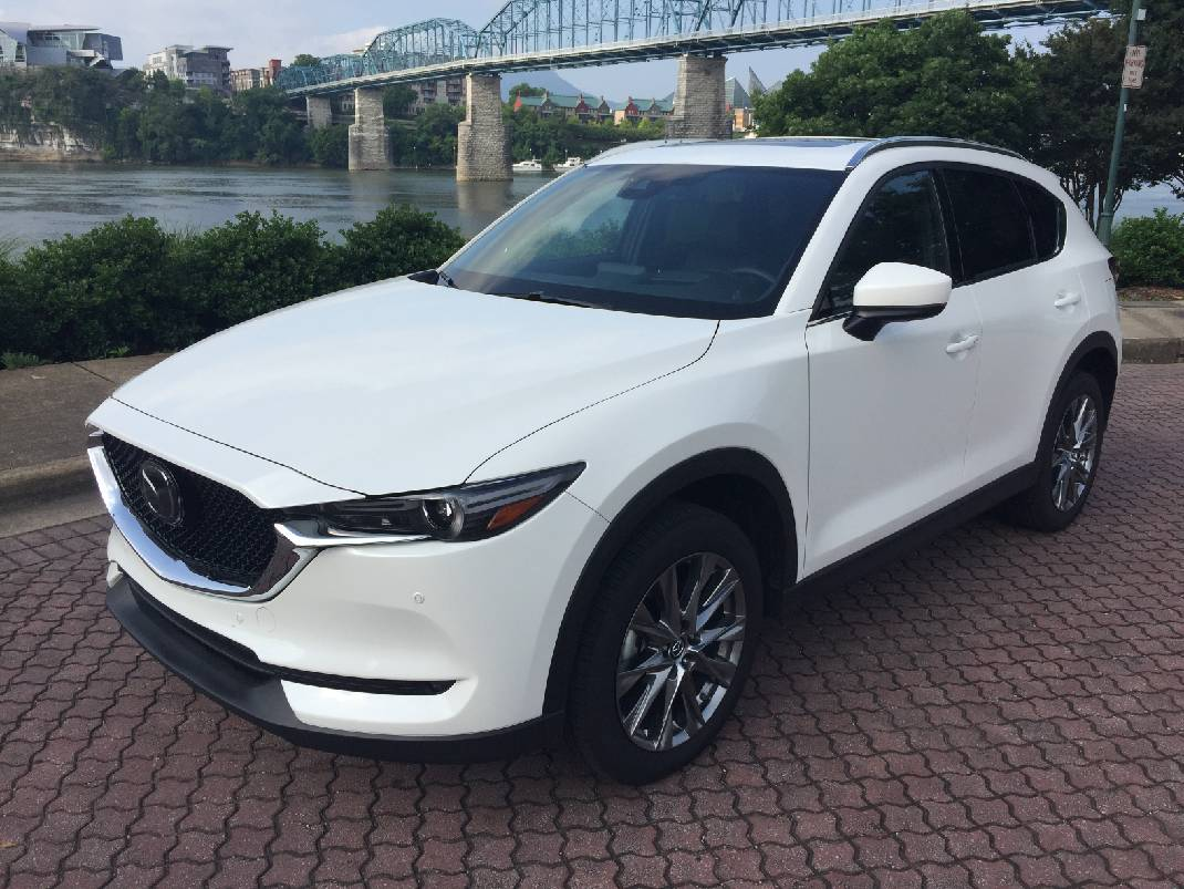 Awd Sports Cars >> Test Drive: Mazda's CX-5 Signature is an athletic crossover that rockets ahead with turbocharged ...