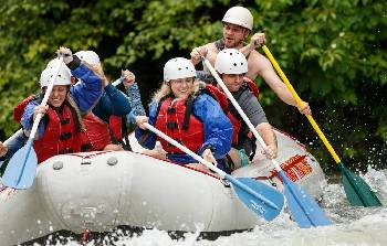 Photos: Official start of whitewater rafting season on the