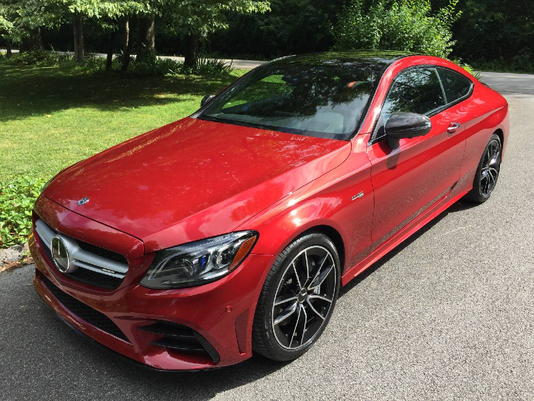 Test Drive Let The Mercedes Benz C43 Amg Coupe Thrill You With Heart Stopping Acceleration And Eye Popping Good Looks Chattanooga Times Free Press