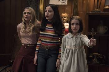 Film Review: In latest 'Annabelle,' a babysitting gig goes awry [trailer]