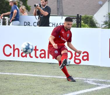 Ami Pineda providing a key boost to Chattanooga Red Wolves