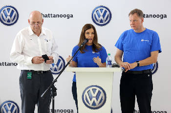 Volkswagen names new Chattanooga CEO as plant readies for two vehicle launches, $800 million expansion