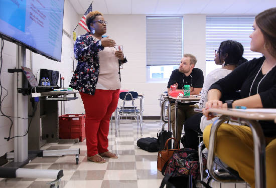 Hamilton County new teachers prepare for the school year and the challenges ahead