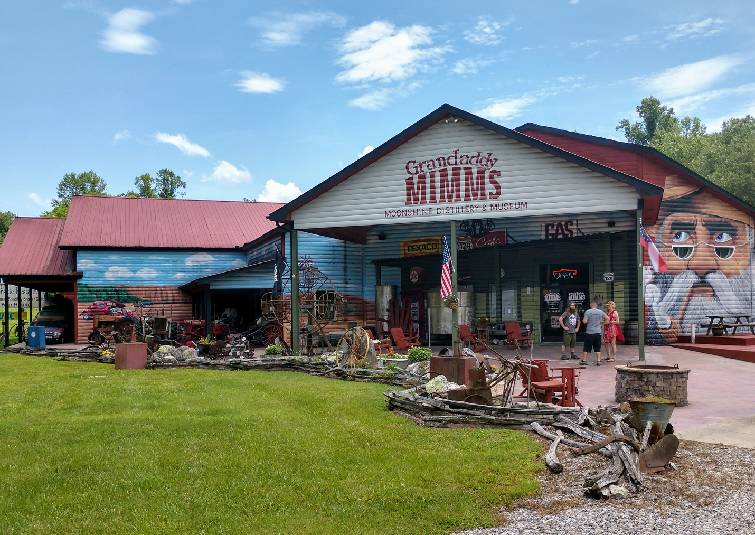 A side trip to find the best moonshine in Blairsville, Georgia