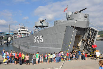 For a glimpse into history, tour a WWII ship at Ross's Landing in Chattanooga