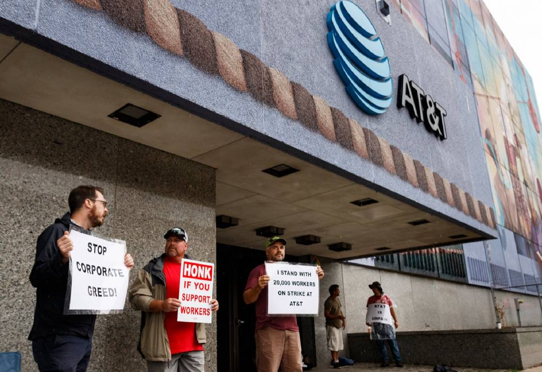 AT&T, union settle on contract after 4-day labor strike