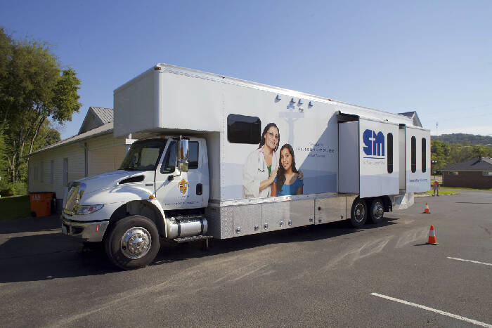 Mobile clinic comes to the rural uninsured in TN