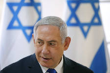 On vote eve, Netanyahu vows total West Bank settlement annex