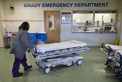 Georgia Governor Issues Emergency After Atlanta Hospital Floods Chattanooga Times Free Press