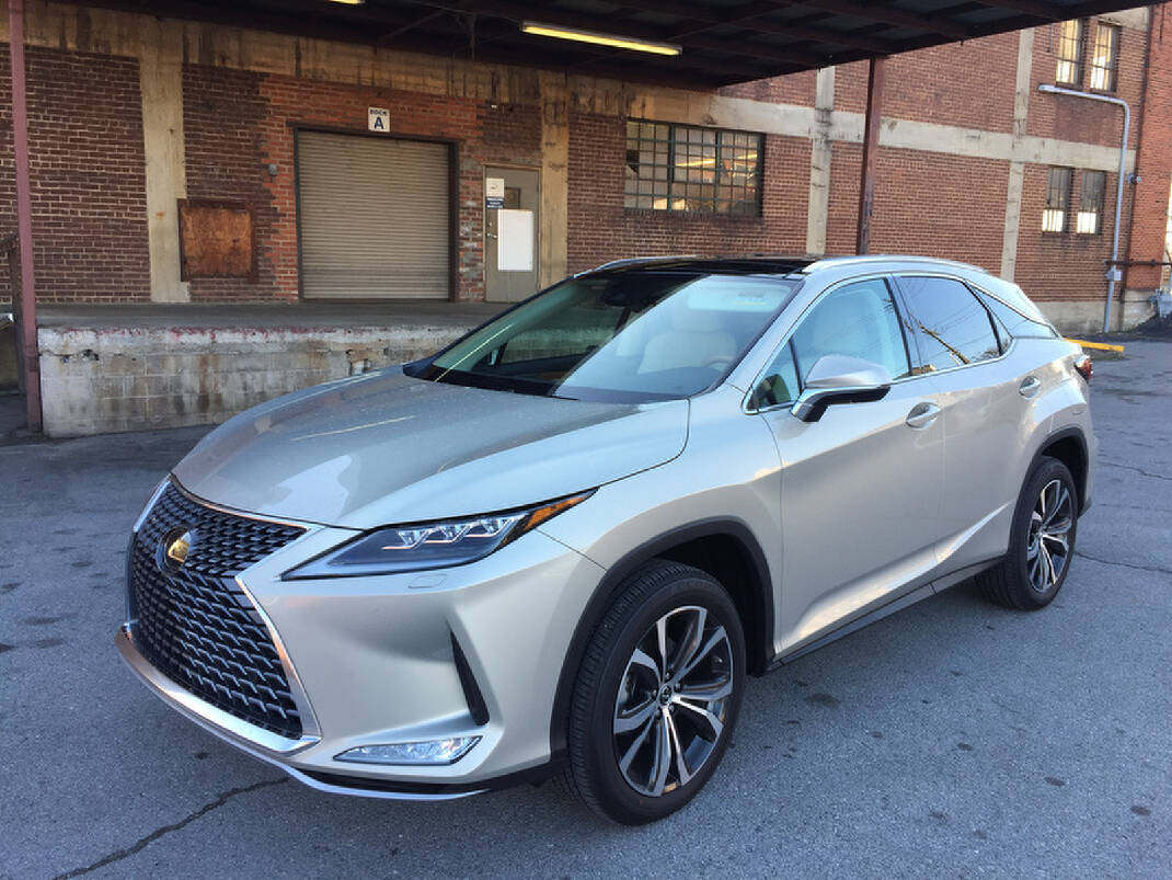 Test Drive Newest Lexus Rx 350 Awd Suv Creates A Luxurious Sanctuary For Drivers Chattanooga Times Free Press