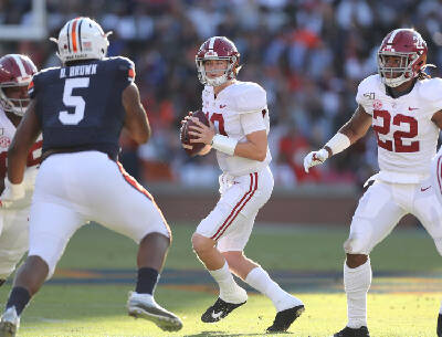 Alabama Quarterback Mac Jones Moving On To Citrus Bowl Master S Degree Chattanooga Times Free Press